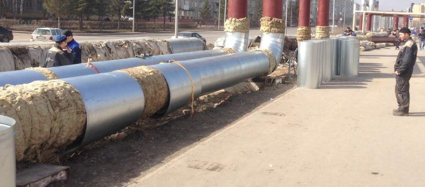 Теплоизоляционные работы на трубопроводах картинки